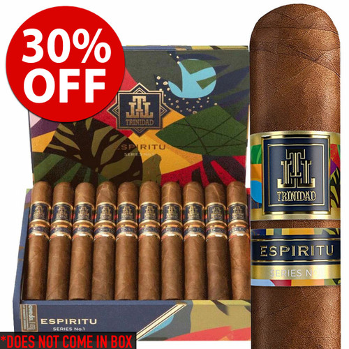 *SOLD OUT* Trinidad Espiritu No. 1 Toro (6x54 / 7 Pack) + 30% OFF RETAIL!