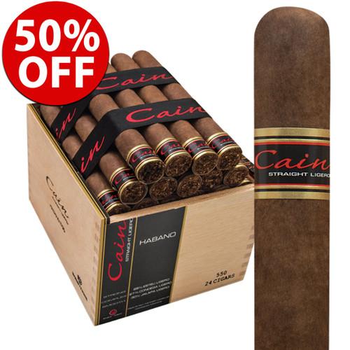 Cain Habano 550 Robusto (5.75x50 / 10 Pack) + 50% OFF RETAIL!