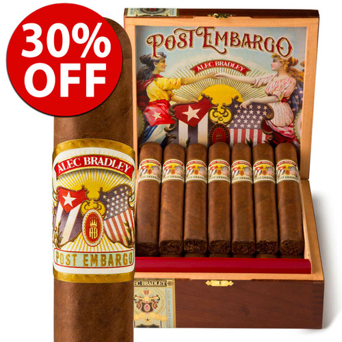 Alec Bradley Post Embargo Toro (6.25x54 / 5 Pack) + 30% OFF RETAIL!