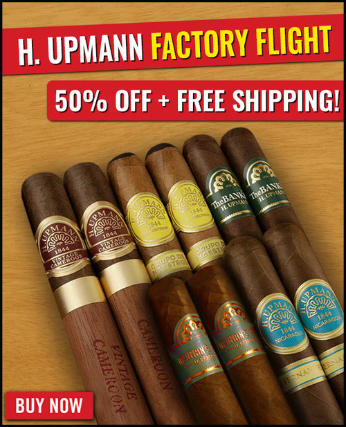 H. Upmann 2020 Factory Flight (10 PACK SPECIAL) + 50% OFF RETAIL! + FREE SHIPPING ON YOUR ENTIRE ORDER!