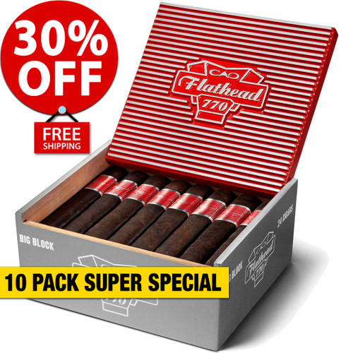 CAO Flathead V770 Big Block (7x70 / 10 PACK SPECIAL) + 30% OFF RETAIL! + FREE SHIPPING ON YOUR ENTIRE ORDER!