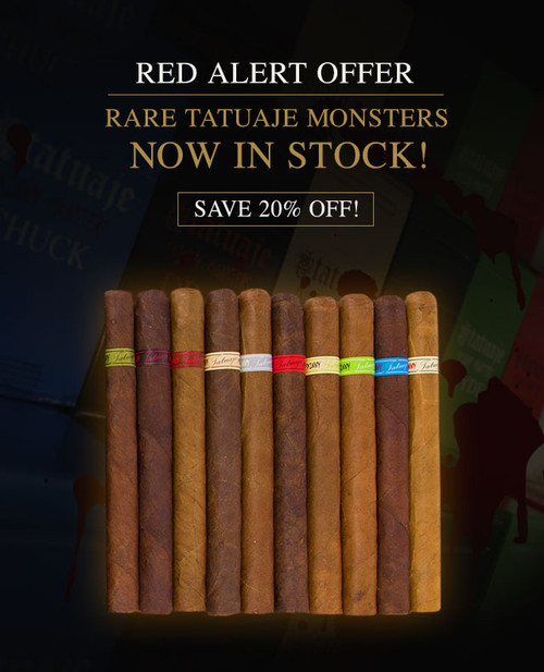 Rare Tatuaje Limited Edition Skinny Monsters Sampler (10 PACK SPECIAL) + 20% OFF! + FREE SHIPPING ON YOUR ENTIRE ORDER!