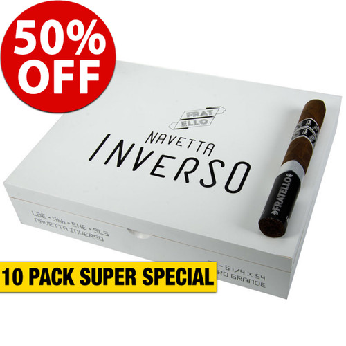 Fratello Navetta Inverso Toro (6.25x54 / 10 PACK SPECIAL) + 50% OFF RETAIL!