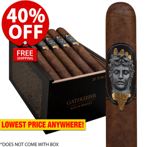 Alec Bradley Alec & Bradley Gatekeeper Toro (6x52 / 20 PACK SPECIAL) + 40% OFF RETAIL! + FREE SHIPPING ON YOUR ENTIRE ORDER!