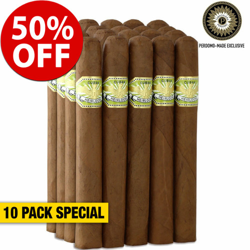 Cuban Heirloom Sungrown Churchill (7x50 / 10 PACK SPECIAL) + 50% OFF RETAIL!