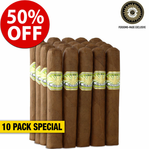 Cuban Heirloom Sungrown Robusto (4.88x50 / 10 PACK SPECIAL) + 50% OFF RETAIL!
