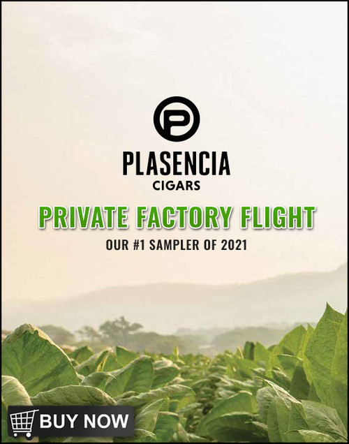 Plasencia Private Factory Flight (10 PACK SPECIAL) + FREE SHIPPING ON YOUR ENTIRE ORDER!