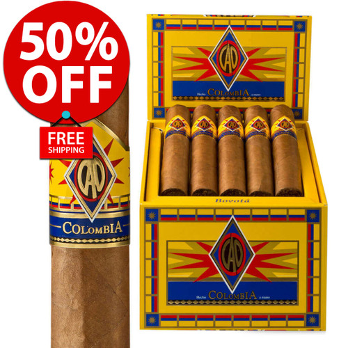 *SOLD OUT* CAO Colombia Bogata (6x60 / Box 20) + 50% OFF + FREE SHIPPING ON YOUR ENTIRE ORDER!