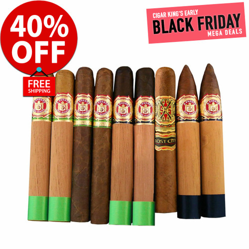 Rare Arturo Fuente Early Black Friday Selection Flight (9 CIGAR SPECIAL) + 40% OFF RETAIL! + FREE SHIPPING ON YOUR ENTIRE ORDER!