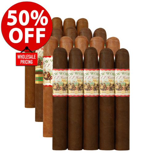 AJ Fernandez Master Case Flight Sampler (25 CIGAR SPECIAL) + 50% OFF RETAIL PRICING!