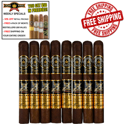 Montecristo Espada Oscuro Guard (6x50 / 8 PACK SPECIAL) + FREE 4-PACK OF MONTECRISTO BESTSELLER CIGARS! + FREE SHIPPING ON YOUR ENTIRE ORDER!