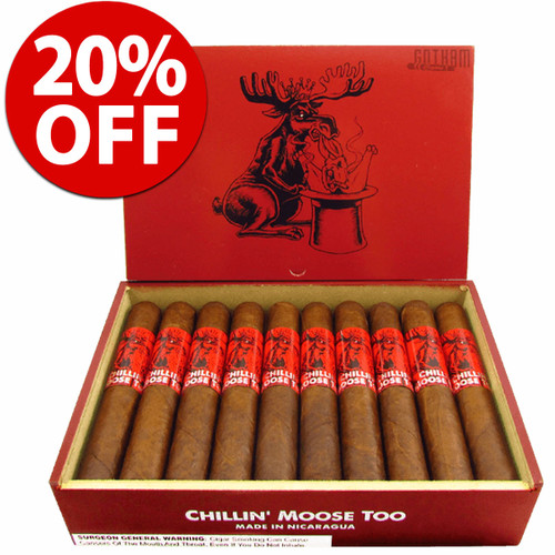 Chillin' Moose Too Corona (5.25x45 / 10 PACK SPECIAL) + 20% OFF!
