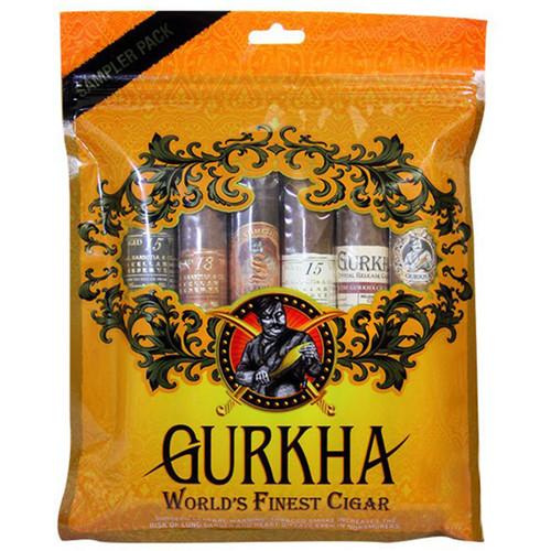 Gurkha Bestseller Dominican Super Pack (6 CIGAR SPECIAL) + 60% OFF RETAIL!