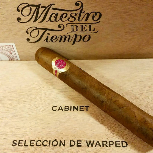 Warped Cigars Maestro Del Tiempo (6.375x42 / Box 25)