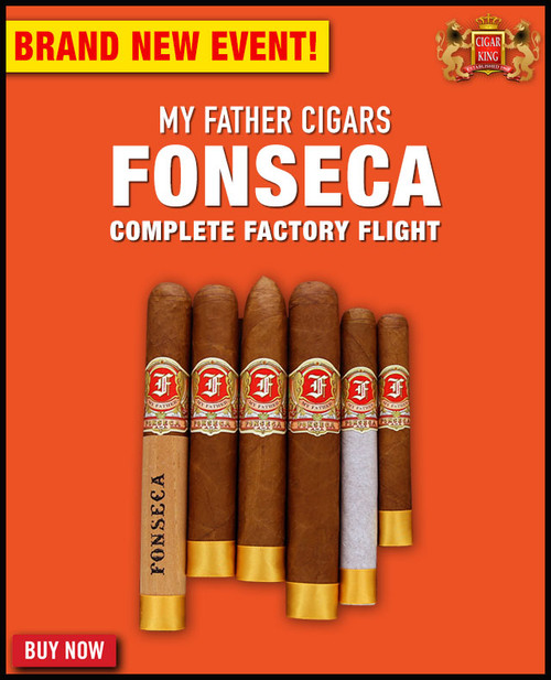 My Father Fonseca Complete Factory Flight (6 PACK SPECIAL) + FREE SHIPPING ON YOUR ENTIRE ORDER!
