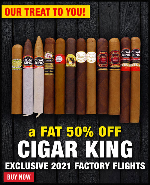 Cigar King 2021 Factory Tour (12 PACK SPECIAL) + 50% OFF + FREE SHIPPING ON YOUR ENTIRE ORDER!