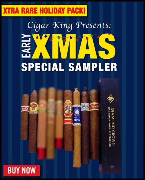 Cigar King Early Xmas Rarity Sampler (10 PACK RARITY SPECIAL) + FREE SHIPPING ON YOUR ENTIRE ORDER!