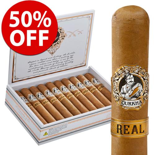 *SOLD OUT* Gurkha Real Toro (6x54 / Box 20) + 50% OFF RETAIL!