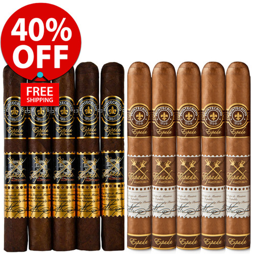 Montecristo Espada Guard Oscuro vs Natural (10 PACK SPECIAL) + 40% OFF! + FREE SHIPPING ON YOUR ENTIRE ORDER!