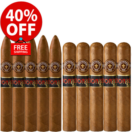 Monte by Montecristo Jacopo No. 2 vs Toro (10 PACK SPECIAL) + 40% OFF! + FREE SHIPPING ON YOUR ENTIRE ORDER!