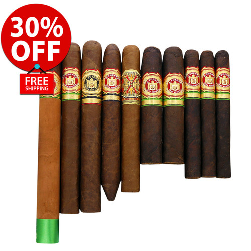 Arturo Fuente Famous Favorites Opus X Flight (10 CIGAR SPECIAL) + 30% OFF! + FREE SHIPPING ON YOUR ENTIRE ORDER!