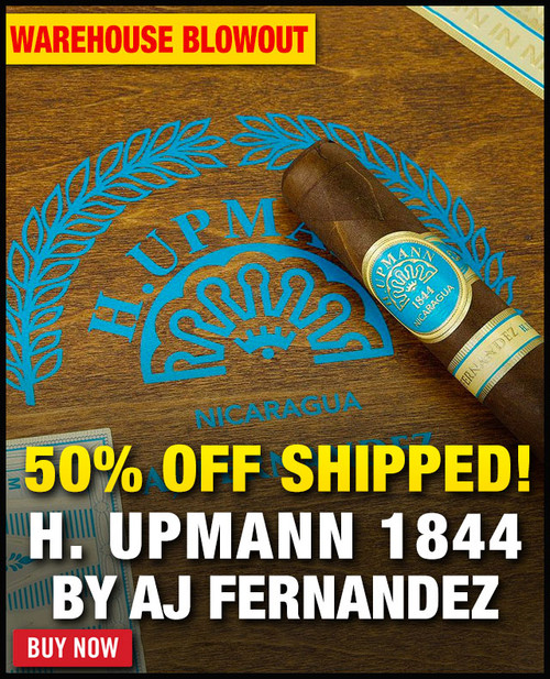 H. Upmann by AJ Fernandez Toro (6x54 / 18 PACK SPECIAL) + 50% OFF RETAIL! + FREE SHIPPING ON YOUR ENTIRE ORDER!