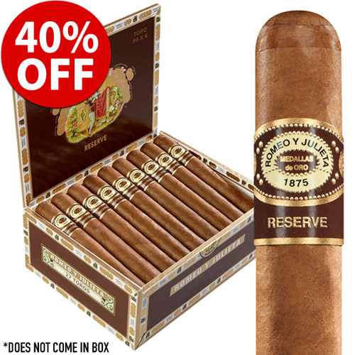 Romeo y Julieta Habana Reserve Churchill (7x54 / Pack 12) + 40% OFF RETAIL!