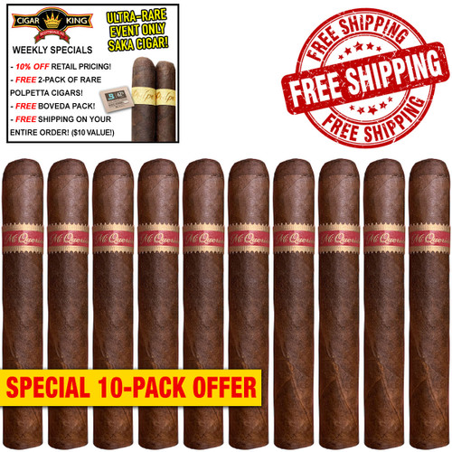 Mi Querida Triqui Traca No. 648 (6x48 / 10 PACK SPECIAL) + 10% OFF RETAIL! + FREE 2-PACK RARE POLPETTA CIGARS! + FREE SHIPPING ON YOUR ENTIRE ORDER!