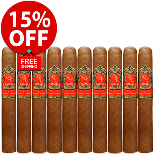 DBL Cigars El Rey XX Habano Toro (6x54 / 10 PACK SPECIAL) + FREE SHIPPING ON YOUR ENTIRE ORDER!