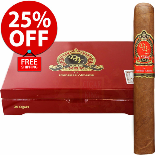 DBL Cigars El Rey V Habano Lonsdale (6x44 / Box 20) + FREE SHIPPING ON YOUR ENTIRE ORDER!