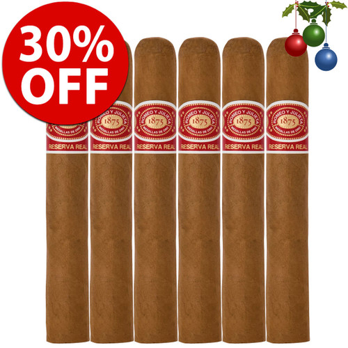 Romeo y Julieta Reserva Real Robusto (5x52 / 6 Pack) + 30% OFF!