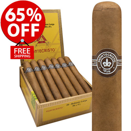 Montecristo Original No. 2 Torpedo Smash Deal (6x50 / 15 PACK BLOWOUT) + 65% OFF! + FREE SHIPPING ON YOUR ENTIRE ORDER!