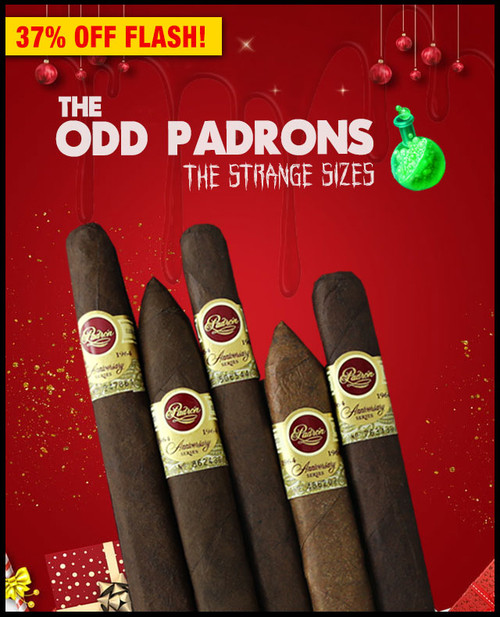 "Padron ""The Odd Padron"" Strange Sizes 1964 Anniversary Sampler (5 PACK SAMPLER) + SPECIAL XMAS DISCOUNT + FREE SHIPPING ON YOUR ENTIRE ORDER!"