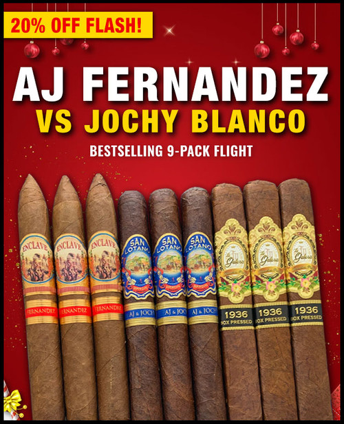 AJ Fernandez VS Jochy Blanco Bestselling Sampler (9 PACK SAMPLER) + SPECIAL XMAS DISCOUNT + FREE SHIPPING ON YOUR ENTIRE ORDER!