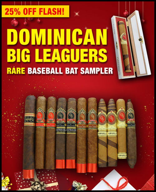 DBL Cigars 2020 Baseball Factory Flight Taster (11 PACK SAMPLER) + SPECIAL XMAS DISCOUNT + FREE SHIPPING ON YOUR ENTIRE ORDER!