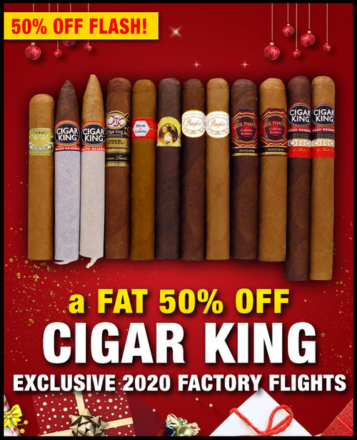 Cigar King 2020 Factory Tour (12 PACK SAMPLER) + SPECIAL XMAS DISCOUNT + FREE SHIPPING ON YOUR ENTIRE ORDER!