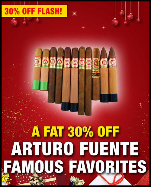 Arturo Fuente Famous Favorites Opus X Flight (11 PACK SAMPLER) + SPECIAL XMAS DISCOUNT + FREE SHIPPING ON YOUR ENTIRE ORDER!