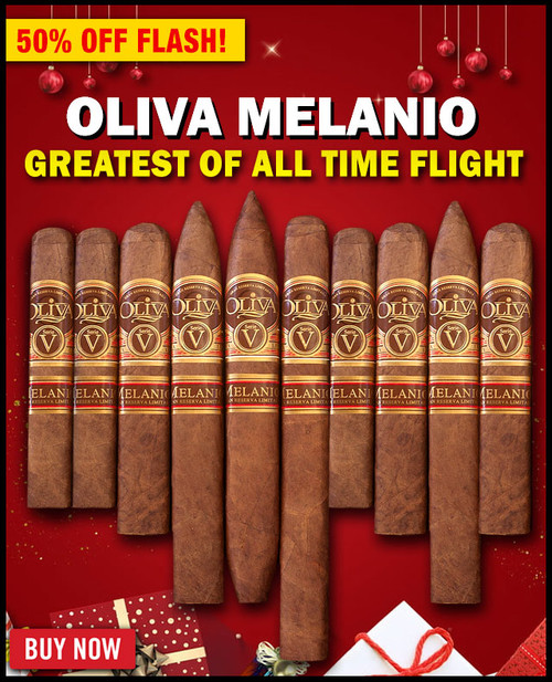 Oliva Serie V Melanio Greatest Of All Time Flight (10 PACK SAMPLER) + SPECIAL XMAS DISCOUNT + FREE SHIPPING ON YOUR ENTIRE ORDER!