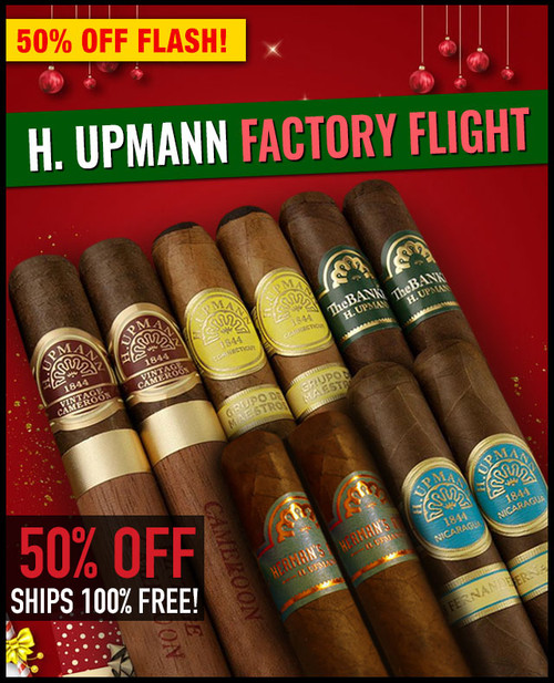 H. Upmann 2020 Factory Flight (10 PACK SAMPLER) + SPECIAL XMAS DISCOUNT + FREE SHIPPING ON YOUR ENTIRE ORDER!