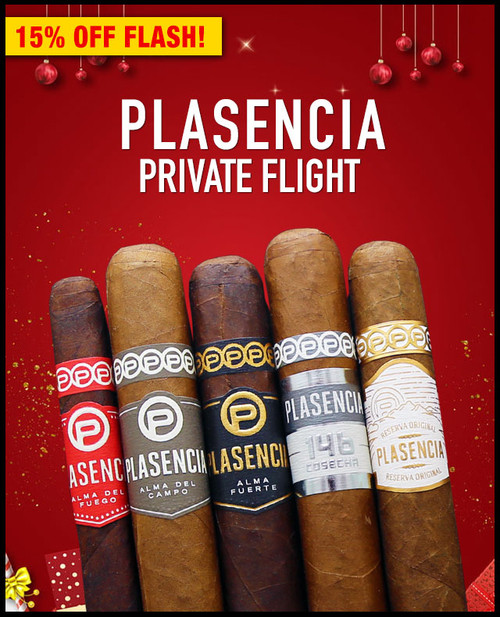 Plasencia Bestseller Private Flight (5 PACK SAMPLER) + SPECIAL XMAS DISCOUNT + FREE SHIPPING ON YOUR ENTIRE ORDER!