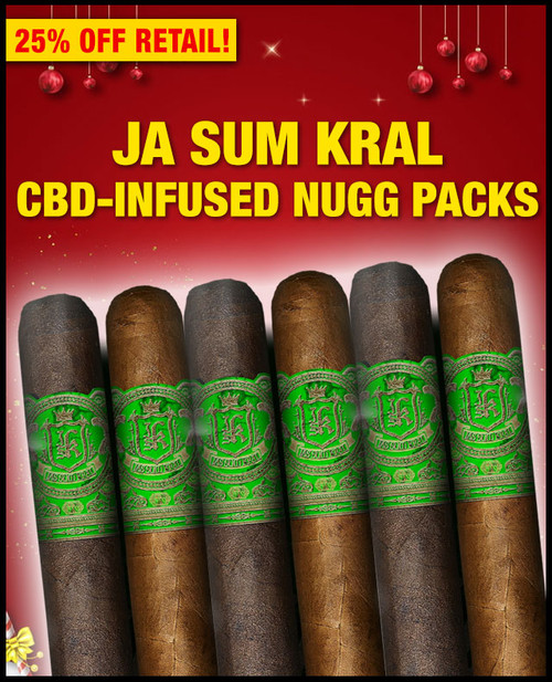 Nuggs Packs By Jas Sum Kral CBD Infused Flight 360mg (4.5x48 / 6 PACK SAMPLER) + SPECIAL XMAS DISCOUNT + FREE SHIPPING ON YOUR ENTIRE ORDER!