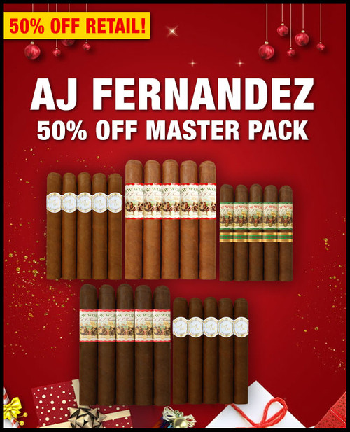 AJ Fernandez Master Case Flight Sampler (25 PACK SAMPLER) + SPECIAL XMAS DISCOUNT + FREE SHIPPING ON YOUR ENTIRE ORDER!