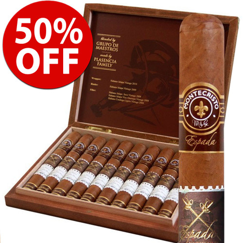 Montecristo Espada Guard (6x50 / 10 PACK SPECIAL) + 50% OFF RETAIL!