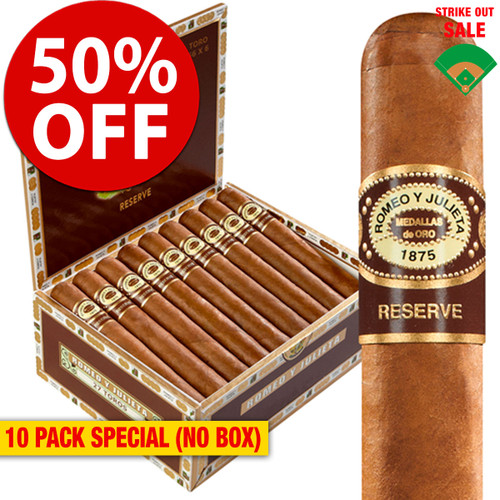 Romeo y Julieta Habana Reserve Churchill (7x54 / 10 PACK SPECIAL) + 50% OFF RETAIL!