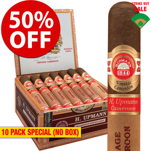 H. Upmann Vintage Cameroon Toro (6x54 / 10 PACK SPECIAL) + 50% OFF RETAIL!