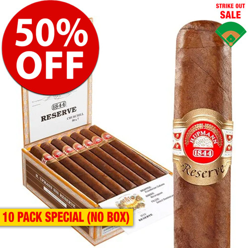 H. Upmann 1844 Reserve Churchill (7x50 / 10 PACK SPECIAL) + 50% OFF RETAIL!
