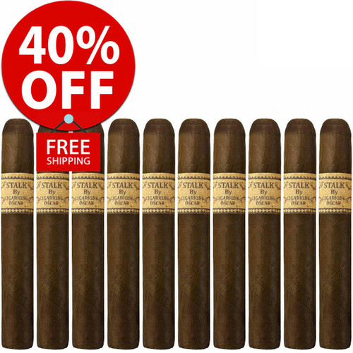 STALK by Leaf By Oscar Maduro Toro (6x52 / 10 PACK SPECIAL) + 40% OFF RETAIL! + FREE SHIPPING ON YOUR ENTIRE ORDER!