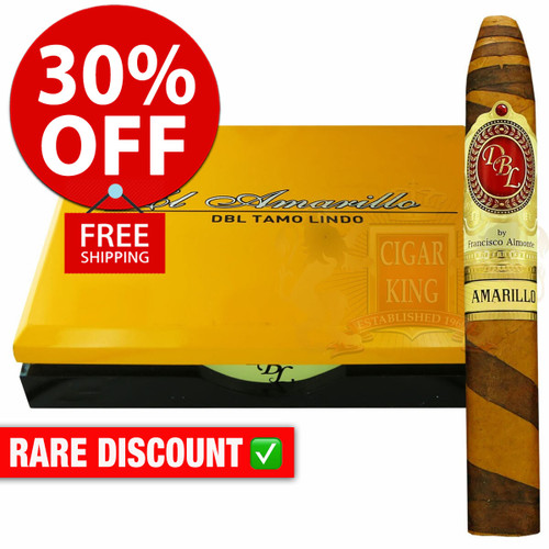 DBL Cigars Amarillo Connecticut Fancy Belicoso (5.625x54 / 10 PACK SPECIAL) + 30% OFF RETAIL! + FREE SHIPPING ON YOUR ENTIRE ORDER!
