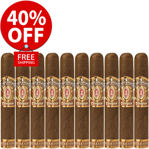 Alec Bradley Tempus Nicaragua Robusto (5x50 / 10 PACK SPECIAL) + 40% OFF RETAIL! + FREE SHIPPING ON YOUR ENTIRE ORDER!
