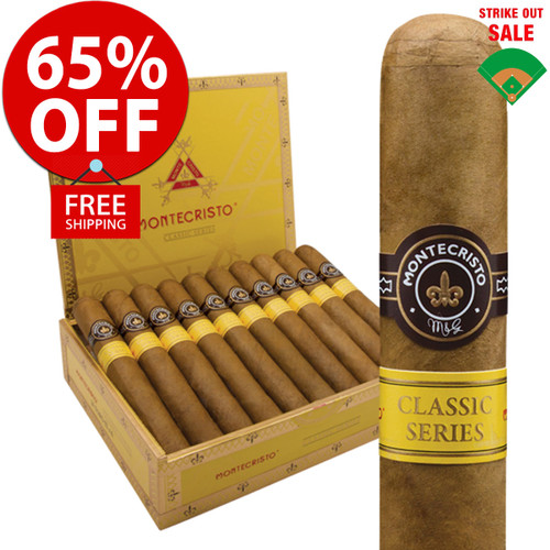 Montecristo Classic Churchill (7x54 / 20 PACK SPECIAL) + 65% OFF RETAIL! + FREE SHIPPING ON YOUR ENTIRE ORDER!